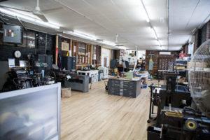 Raghaus Letterpress Studio, Newburgh, New York