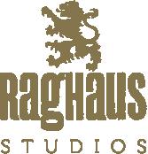 Raghaus Studios Logo solid gold