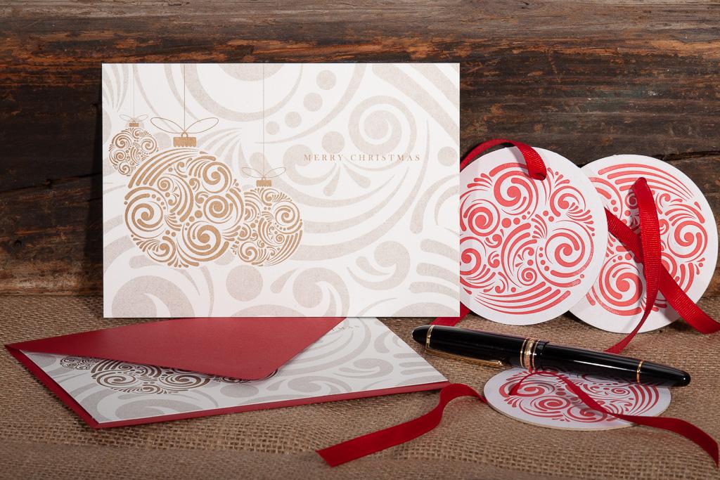 custom printed christmas cards   Raghaus Studios Custom Letterpress ...