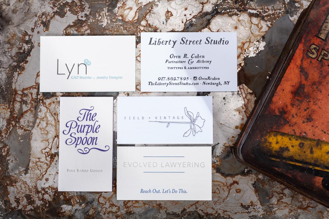Raghaus Studios Letterpress Printing Bold Stationery For The