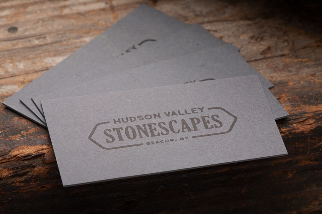 Raghaus Studios duplexed business cards letterpress risograph