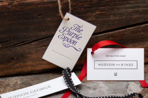 Raghaus Studios custom letterpress hangtags